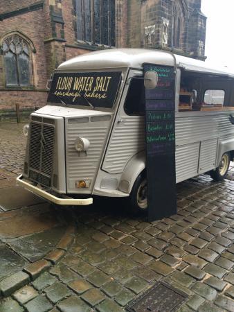 Macclesfield, UK: Flour Water Salt bakers van