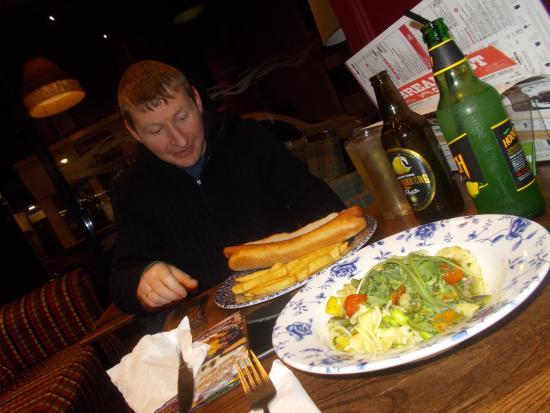 Dumbarton, UK: Yemeğimiz