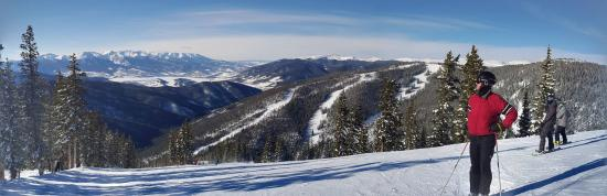 Keystone, CO: Top of the mountain - clear and cool with fantastic groomed conditions.