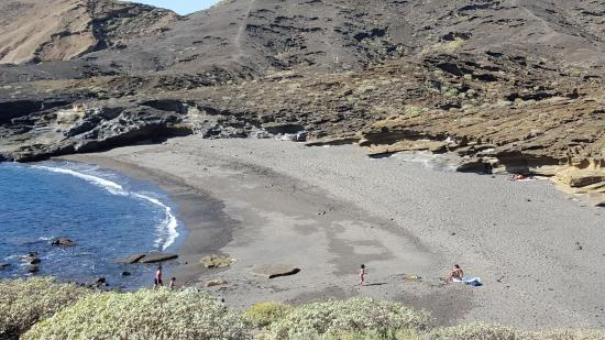 Granadilla de Abona, Hiszpania: Strand bei der Anlage