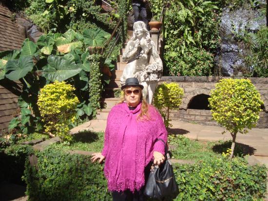 Matelândia, PR: jardim e esculturas lindas