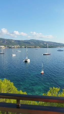 Intertur Palmanova Bay: Stunning view from the outside terrace