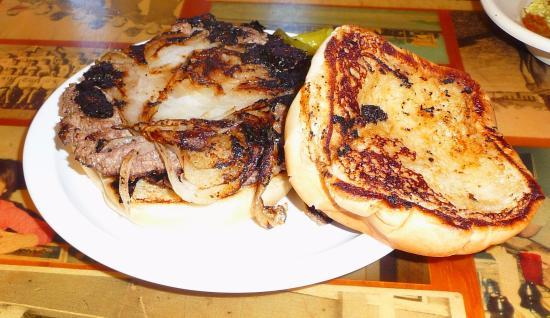 เอลรีโน, โอคลาโฮมา: onion burger, delicious