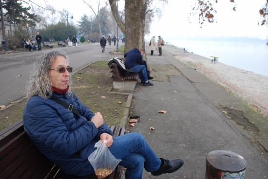 Zemun, Σερβία: Tuna kıyısında...