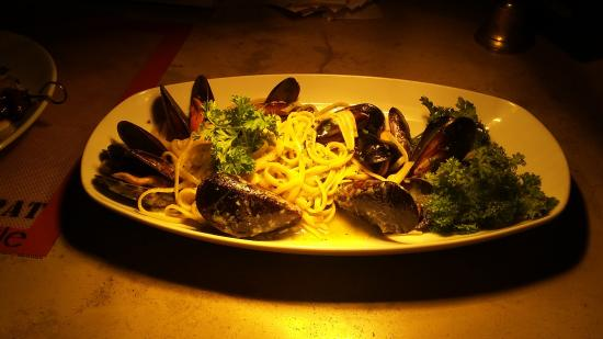 Sandton, Sudáfrica: Spaghetti Mussels