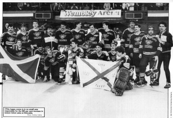 Fife Ice Arena: Flyers win at Wembley