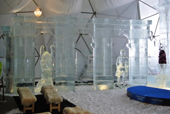 Vysoke Tatry, Eslovaquia: Ice statues