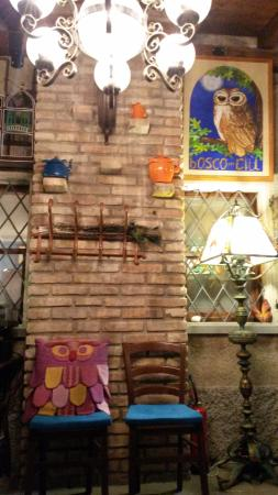 Agriturismo Il Bosco del Ciu : particolari della sala