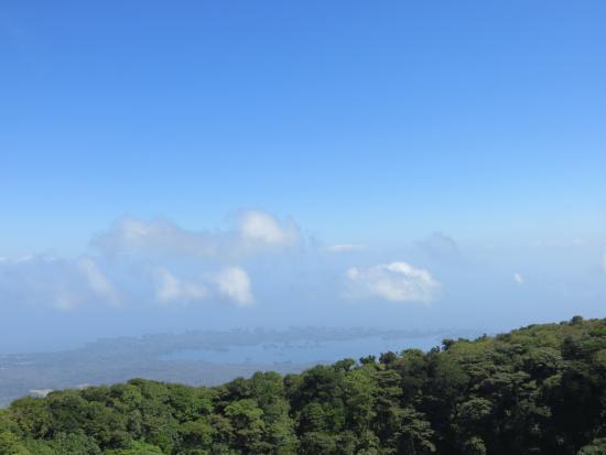 Mombacho Volcano: Vista de la laguna
