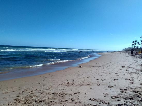 Lauro de Freitas, BA: Praia Vilas do Atlântico