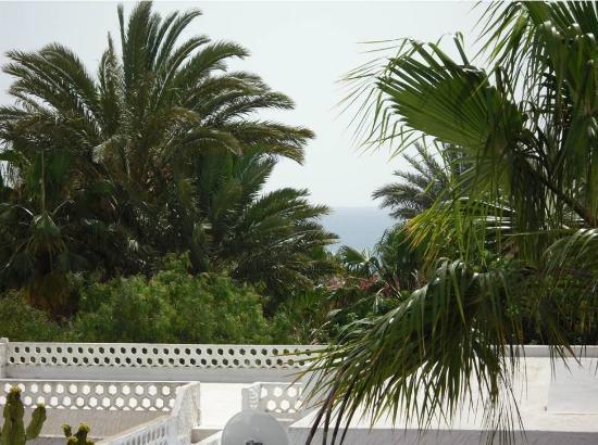 Casa Silvia: Vue de la terrasse