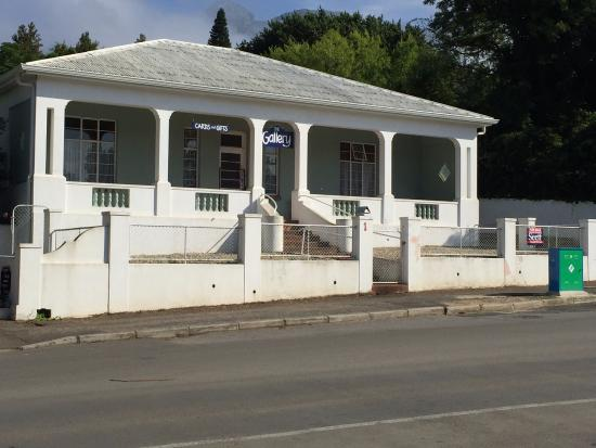 Swellendam, Sudáfrica: typical old house in main street