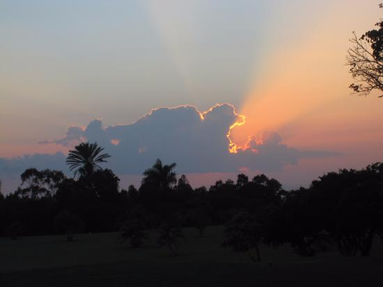 Kalaheo, HI: Sunset from the golf course