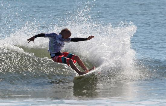 Florida State Surfing Championships at Jacksonville Beach Pier