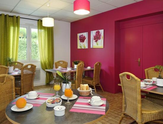 Joue-les-Tours, فرنسا: Salle de petit déjeuner