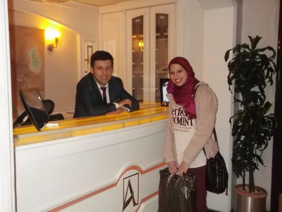Doorman And Dining Room Attendant Enes Ugur Picture