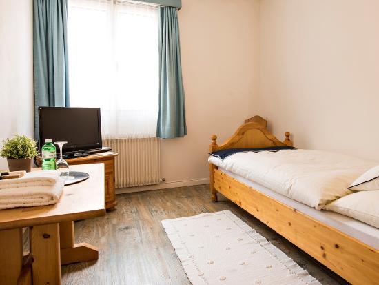 Silvaplana, Szwajcaria: Einzelzimmer
