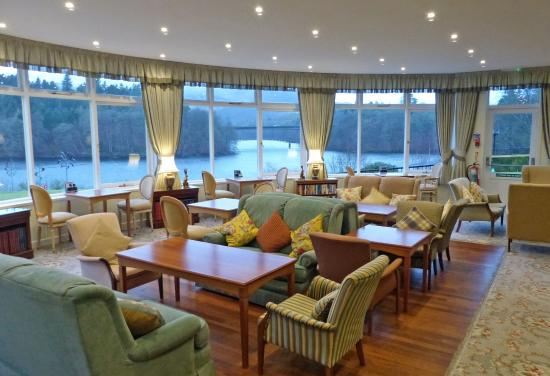 The Green Park Hotel: Sun lounge overlooking loch... used for dancing too
