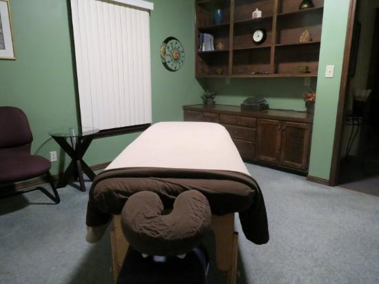 Think, black massage room consider