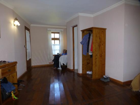 Hosteria El Pilar: Especial para leer o relajarse mirando por la ventana