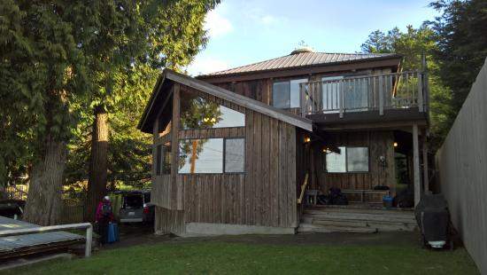 Hornby Island, Canadá: The diving lodge