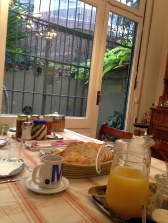 BarcelonaBB: El exquisito desayuno!