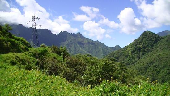 Arue, Polynésie française : paysage
