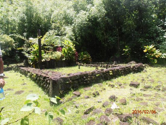 Arue, Polynésie française : marae