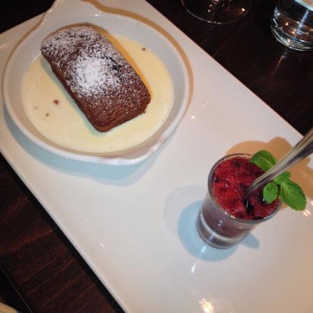 The Blackboard Bistro: Chocolate Financier