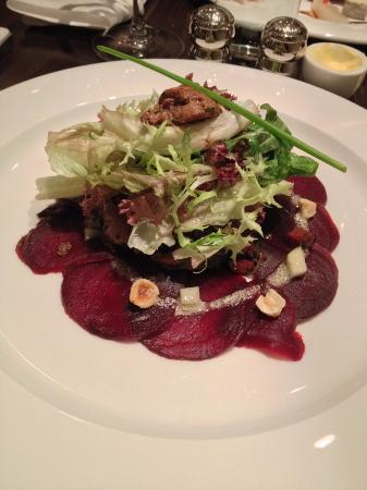 The Blackboard Bistro : Sauté Chicken Liver Salad