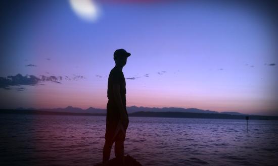 Edmonds, WA: Sunset watching