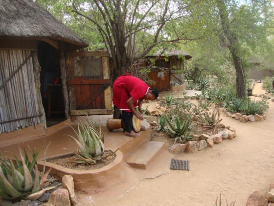 Timbavati Private Nature Reserve, Sudáfrica: the summons to the meals