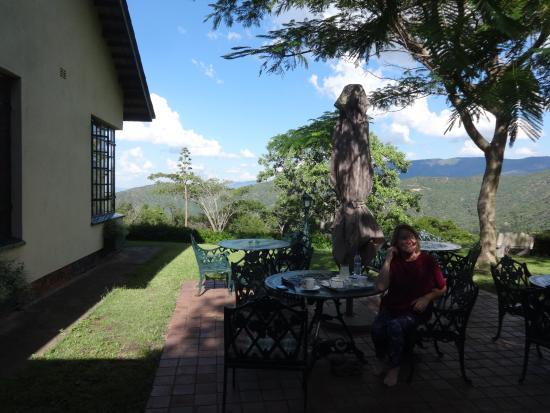 Inn on the Vumba: the terrace