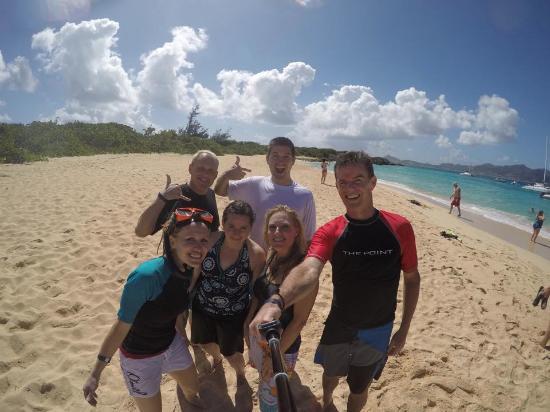 Oyster Pond, St-Martin/St Maarten: Awesome warm beach