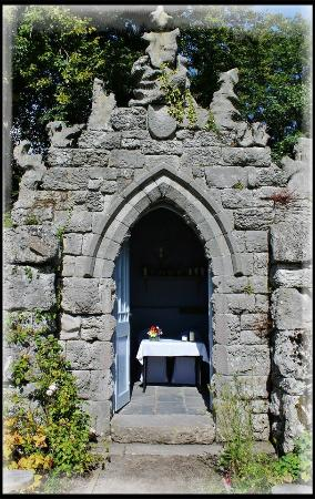 Ulverston, UK : The unique wedding chapel at Ford Park