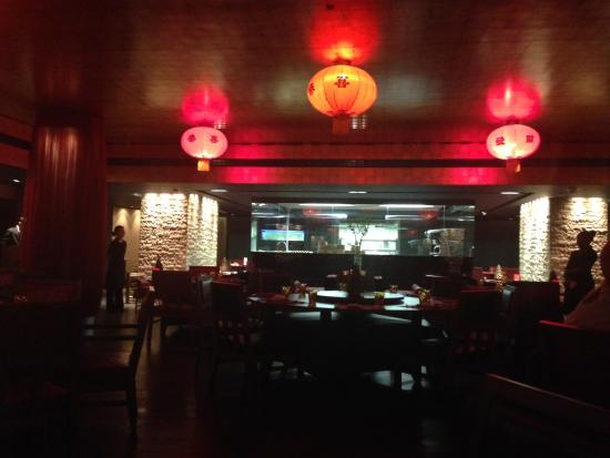 Hong Loong: The view of the restaurant from our table