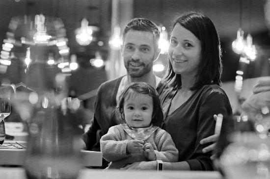Bever, Suiza: Gastgeber Familie Zeller