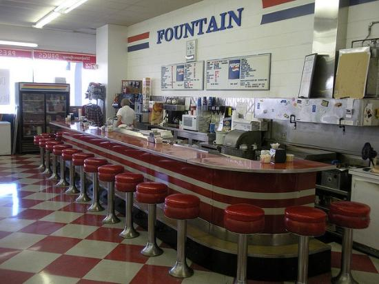 Great finds from around the world picture of gateway to for Old fashioned soda fountain near me