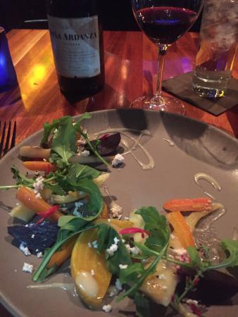 Staunton, VA: Root vegetable salad