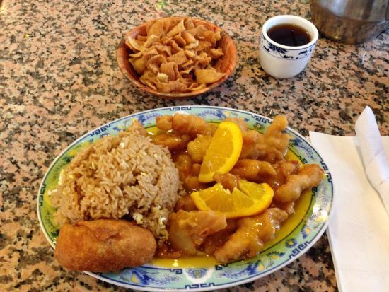 Forest Park, Géorgie : Orange Chicken Lunch special