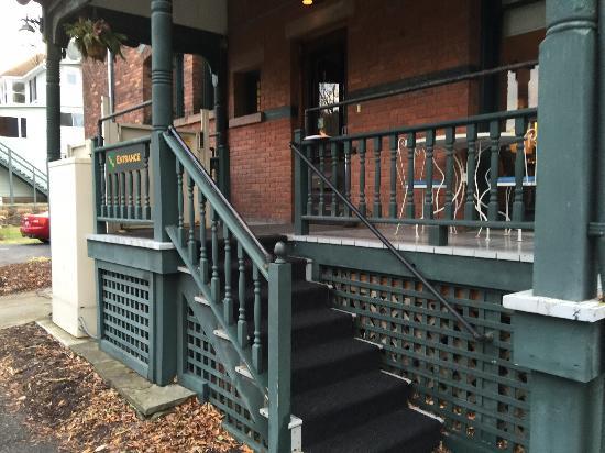The William Henry Miller Inn: Side entrance