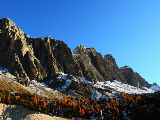 Selva di Val Gardena., Italië: Passo Sella