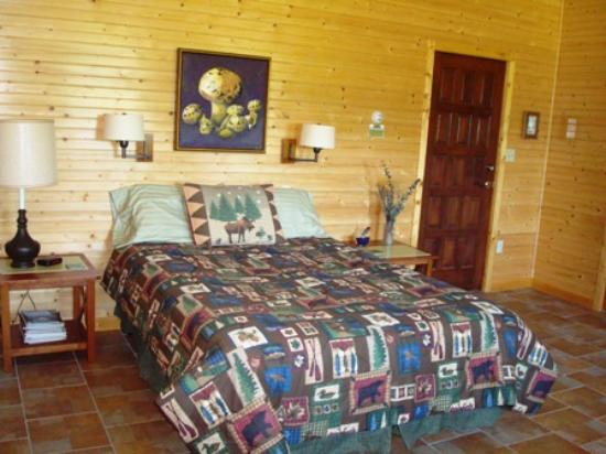 Leicester, Carolina del Norte: Field of Dreams Inn Room