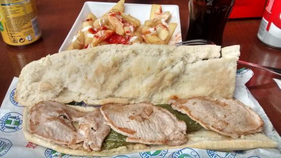 Astún, España: Bocata + bebida incluido en combo de forfait + bocata