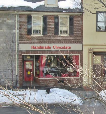 Betlehem, PA: The Chocolate Lab shop on Main St.