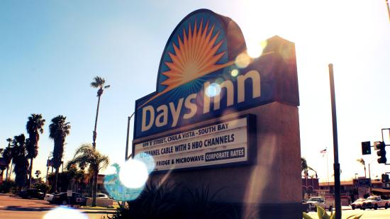 Chula Vista, Californie : The Welcoming Days Inn Sun