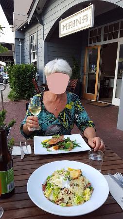 Havelock North, Νέα Ζηλανδία: Dinner on Terace at Maina