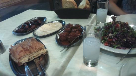 Scholarchio Restaurant: 5 plats !