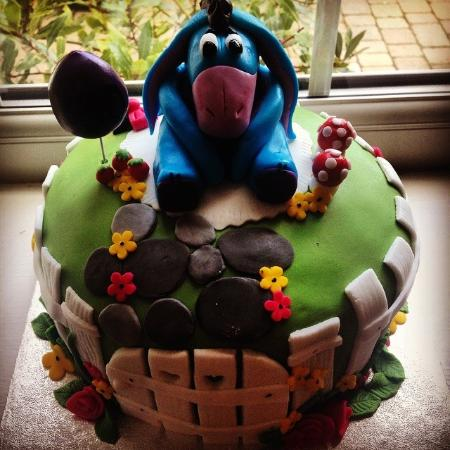 Pleasing Eeyore Birthday Cake Picture Of Coffee At Number 4 Doncaster Funny Birthday Cards Online Inifofree Goldxyz