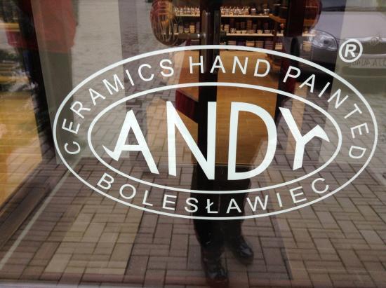 Boleslawiec, Pologne : Andy Polish Pottery